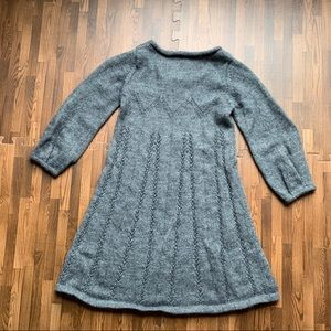 French Connection Dresses - French Connection- Alpaca Wool Knit Babydoll Dress